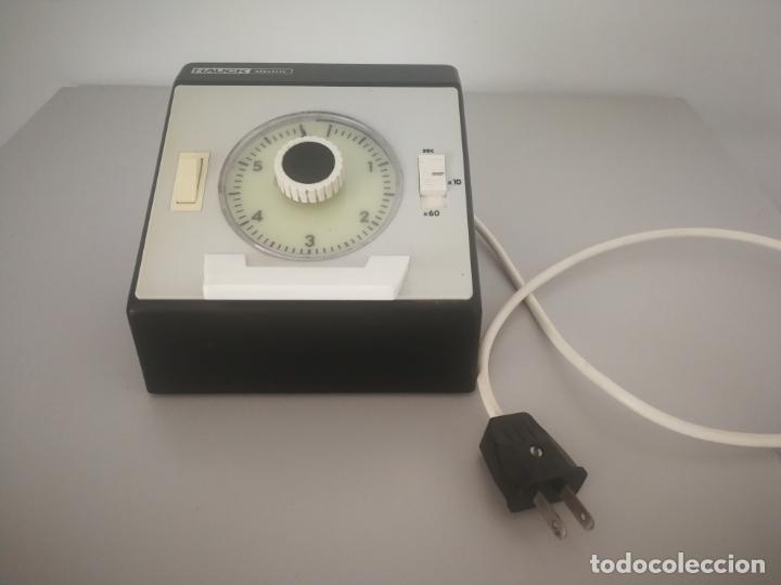 TEMPORIZADOR VINTAGE HAUCK ELECTRIC (Cámaras Fotográficas Antiguas - Objetivos y Complementos )