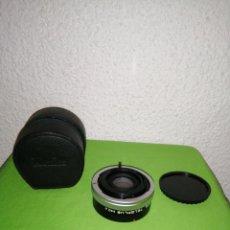 Cámara de fotos: DUPLICADOR KENKO 2X CFE TELEPLUS MC4. Lote 167624857