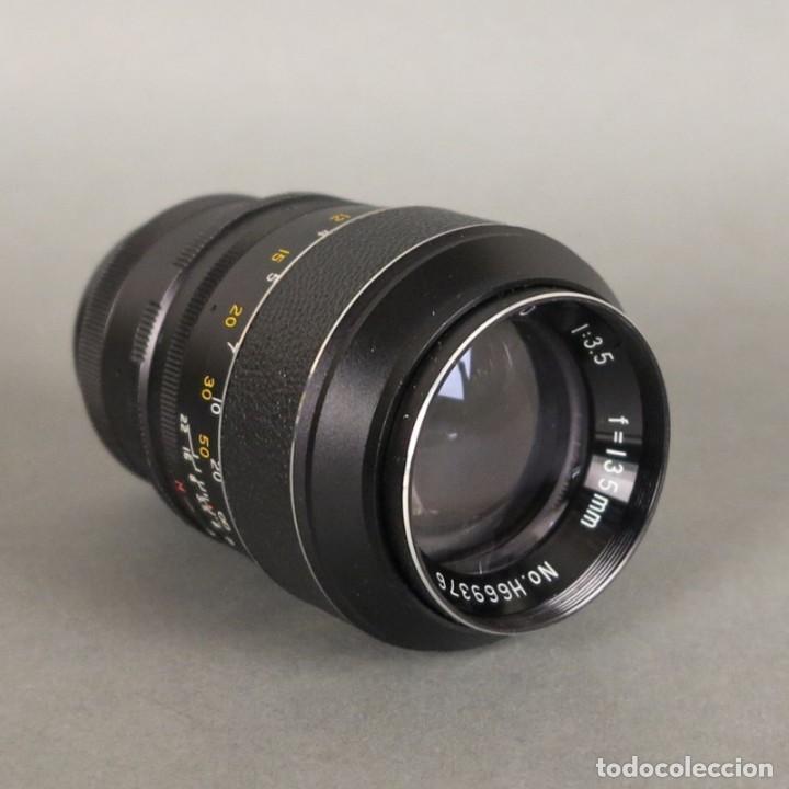 OBJETIVO LENS HANIMEX TELE AUTO 1:3,5 F=135MM (BRD) (Cámaras Fotográficas Antiguas - Objetivos y Complementos )