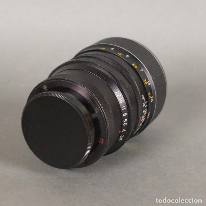 Cámara de fotos: Objetivo Lens Hanimex Tele Auto 1:3,5 f=135mm (BRD) - Foto 3 - 167993824