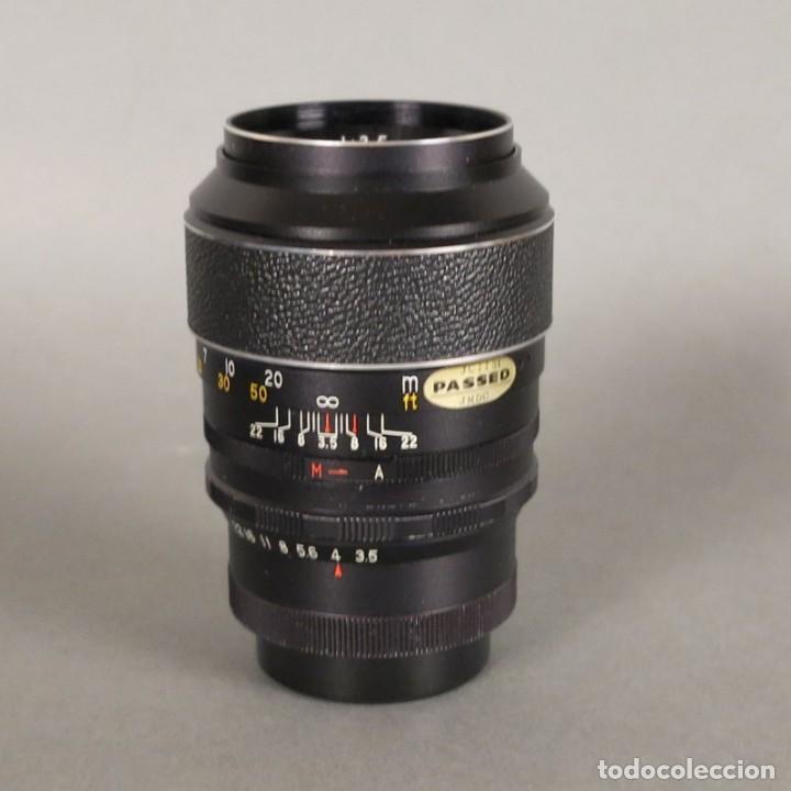 Cámara de fotos: Objetivo Lens Hanimex Tele Auto 1:3,5 f=135mm (BRD) - Foto 4 - 167993824