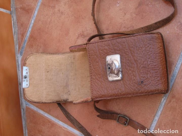 Cámara de fotos: Funda para cámara de fotos de fuelle antigua - Foto 3 - 168024900