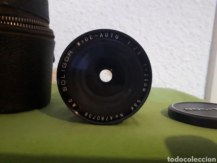 OBJETIVO SOLIGOR WIDE AUTO 1:2.8 F = 28 MM 58 (Cámaras Fotográficas Antiguas - Objetivos y Complementos )