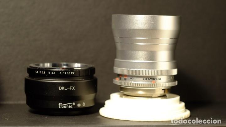 Cámara de fotos: Objetivo mas adaptador Scheneider Kreuznach Retina-Tele-Xenar f.4 135mm + adaptador a fx - Foto 2 - 168387724
