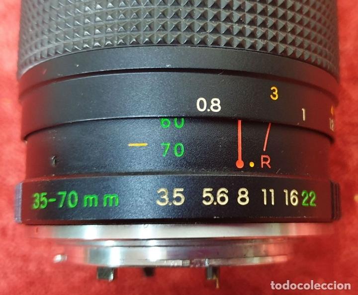 Cámara de fotos: CONJUNTO DE 6 OBJETIVOS PARA CAMARA FOTOGRAFICA. VARIOS MODELOS. AÑOS 70. - Foto 13 - 168543648