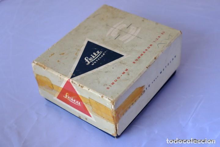 Cámara de fotos: Caja Original Leica Summaron 35 F/ 2,8 SMOO MW - Foto 2 - 168951600