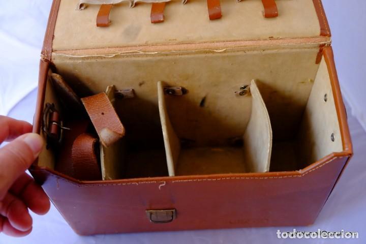Cámara de fotos: Clásico, años 40, estuche de piel.para cámars. - Foto 2 - 168954892