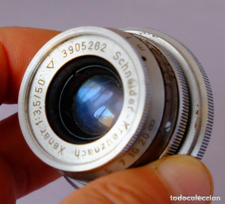 Cámara de fotos: Schneider-Kreuznach RETINA-XENAR 3,5/50mm.AKARETTE - Foto 2 - 169175160