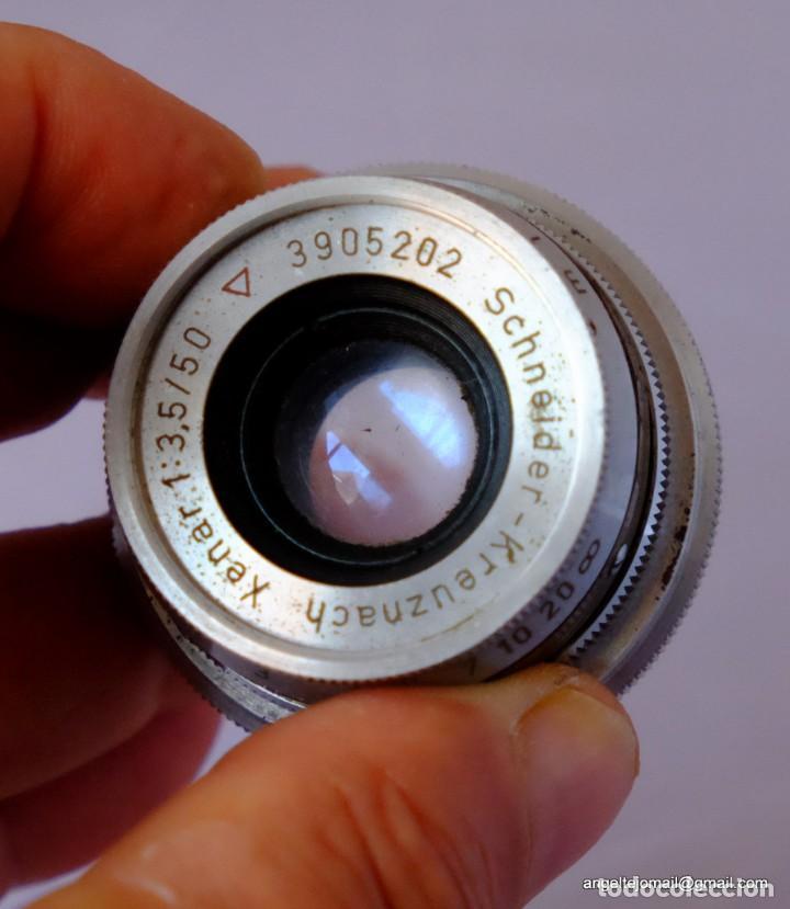 Cámara de fotos: Schneider-Kreuznach RETINA-XENAR 3,5/50mm.AKARETTE - Foto 4 - 169175160