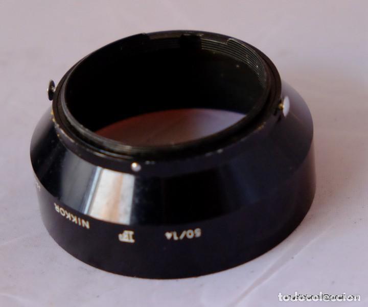 Cámara de fotos: Parasol metalico Nikon F. 1960 - Foto 2 - 169185668