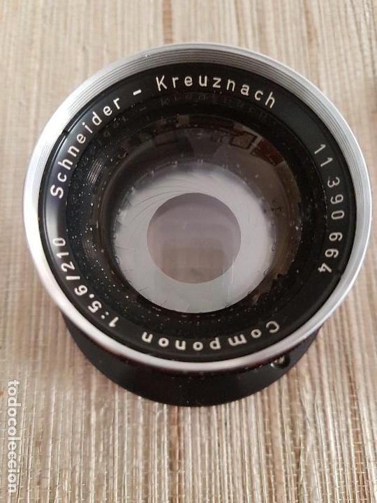 Cámara de fotos: ANTIGUO OBJETIVO PARA AMPLIADORA Schneider - Kreuznach Componon 1:5,6 / 210 - Foto 8 - 169344108