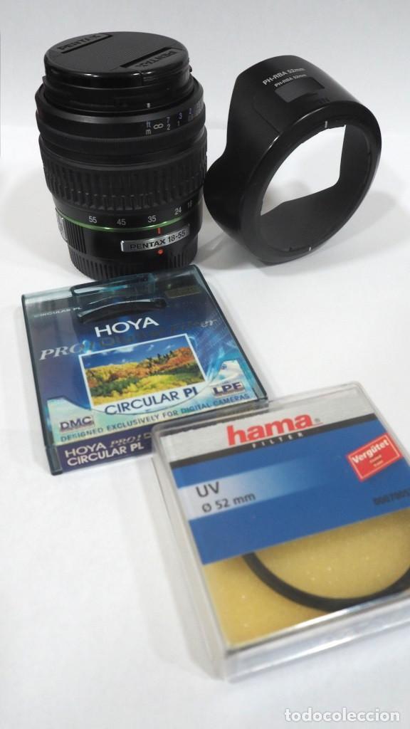 Cámara de fotos: PENTAX 18-55 MM SMC DA AL - Foto 2 - 169360908