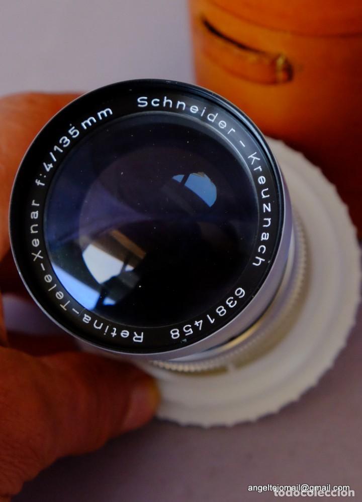 Cámara de fotos: Schneider, Kreutznacht.Retina.C.Nuevo.135 F/4. - Foto 4 - 169423704