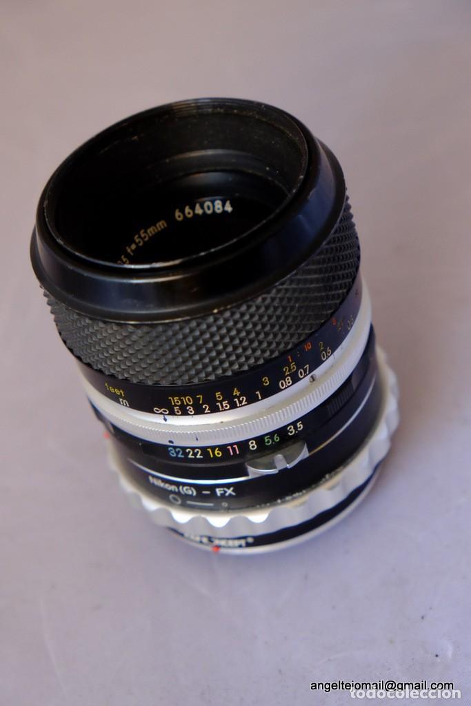 Cámara de fotos: Micro Nikkor 55 F/3,5. - Foto 4 - 169424080