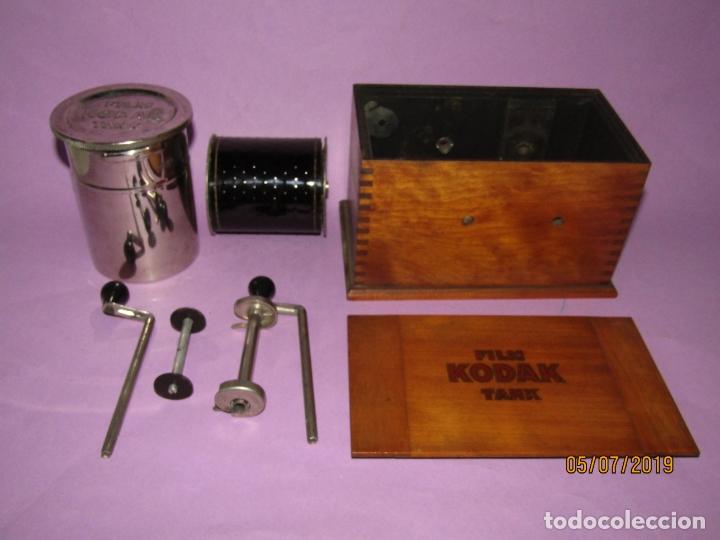 Cámara de fotos: Antiguo Tanque de Revelado FILM KODAK TANK - Foto 2 - 170375860