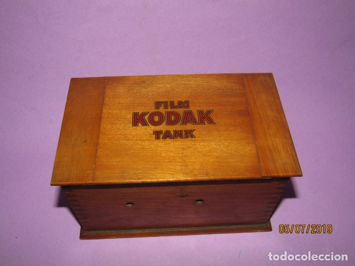 Cámara de fotos: Antiguo Tanque de Revelado FILM KODAK TANK - Foto 4 - 170375860