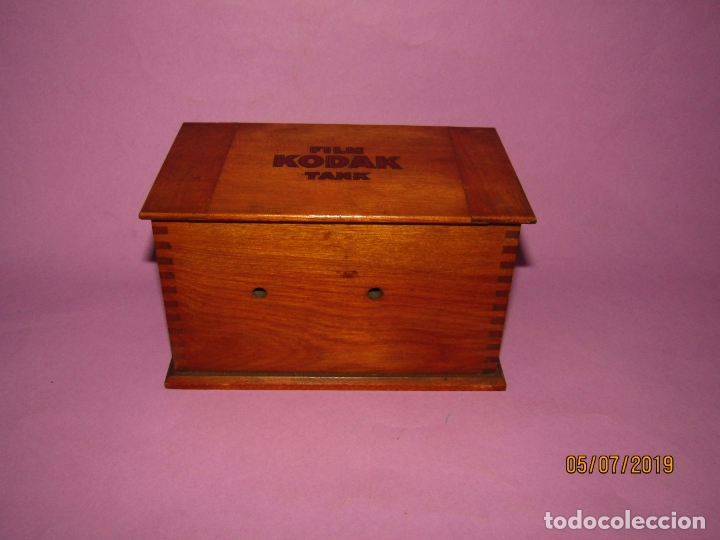 Cámara de fotos: Antiguo Tanque de Revelado FILM KODAK TANK - Foto 6 - 170375860