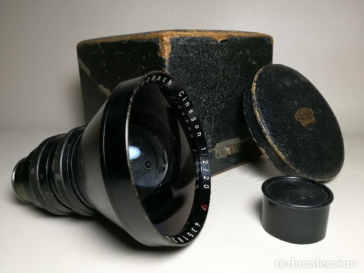 Cámara de fotos: OBJETIVO Schneider Kreuznach Cinegon 20 mm f/2 Arriflex Standard Mount - Foto 11 - 170486008