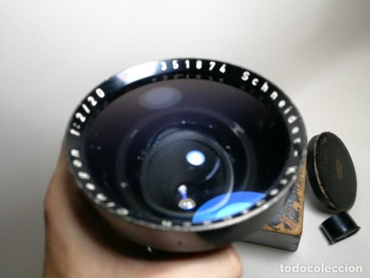 Cámara de fotos: OBJETIVO Schneider Kreuznach Cinegon 20 mm f/2 Arriflex Standard Mount - Foto 29 - 170486008