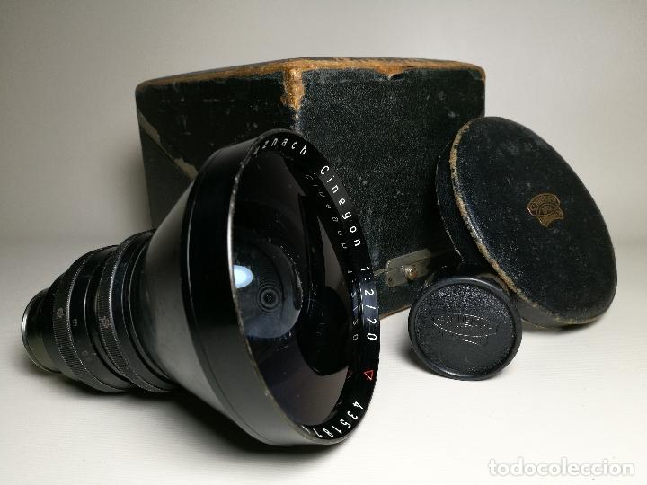 OBJETIVO SCHNEIDER KREUZNACH CINEGON 20 MM F/2 ARRIFLEX STANDARD MOUNT (Cámaras Fotográficas Antiguas - Objetivos y Complementos )