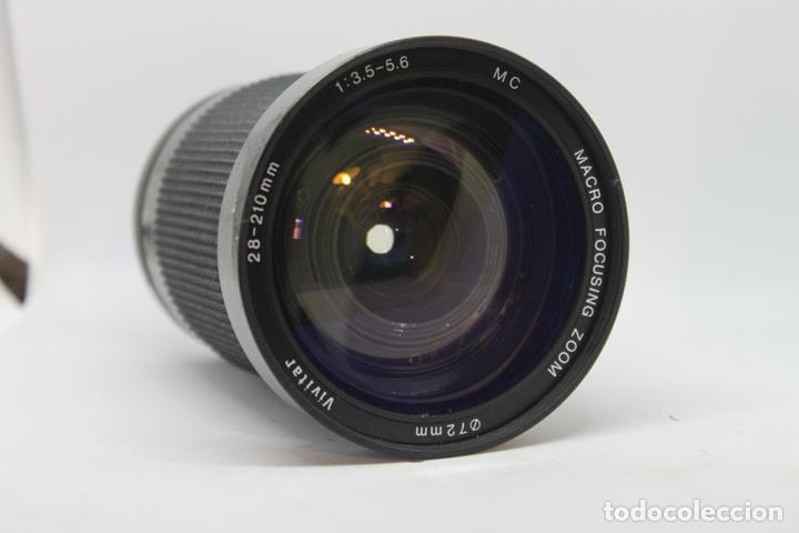 Cámara de fotos: Zoom Vivitar 28-210 1:3,5-5,6 (Bayoneta Minolta MD) - Foto 4 - 170936305