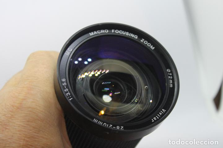 Cámara de fotos: Zoom Vivitar 28-210 1:3,5-5,6 (Bayoneta Minolta MD) - Foto 5 - 170936305