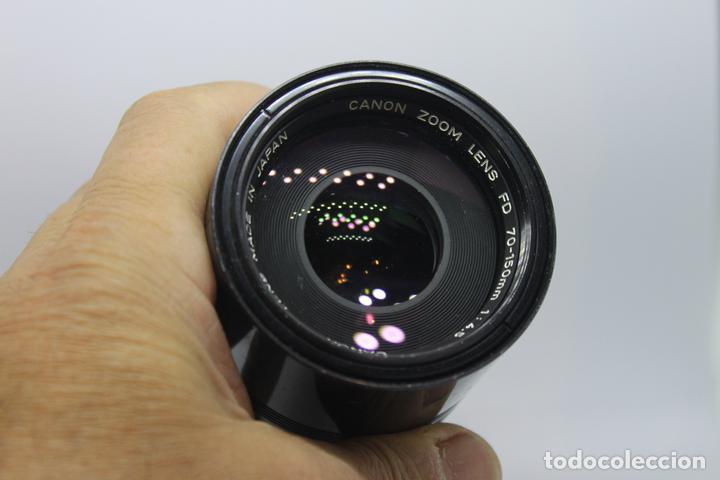 Cámara de fotos: Zoom Canon FD 70-150 1:4,5 - Foto 2 - 170936585