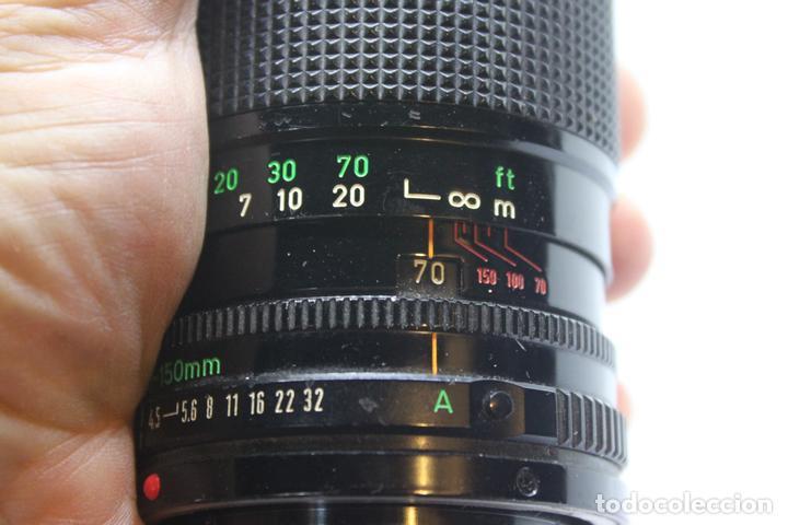 Cámara de fotos: Zoom Canon FD 70-150 1:4,5 - Foto 4 - 170936585