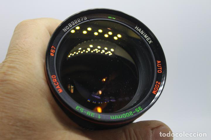 Cámara de fotos: Zoom HANIMEX 35-200 1:3,8-5,3 MACRO (Bayoneta Fujica AX) - Foto 2 - 170936905