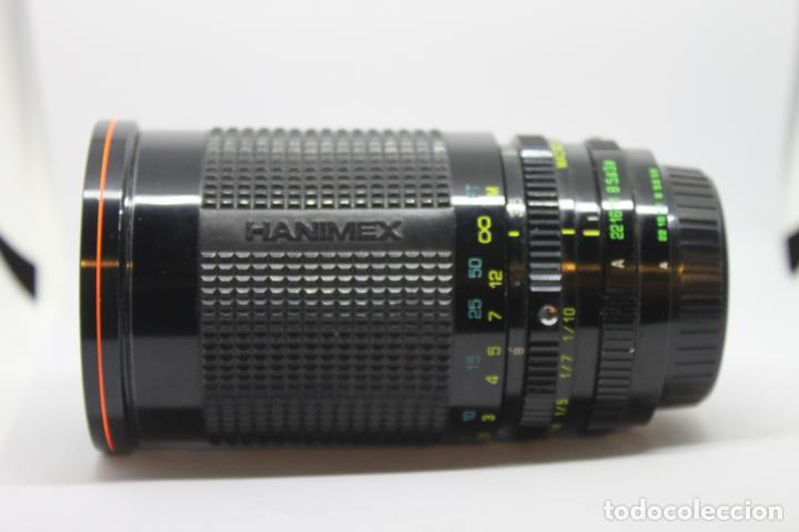 Cámara de fotos: Zoom HANIMEX 35-200 1:3,8-5,3 MACRO (Bayoneta Fujica AX) - Foto 3 - 170936905