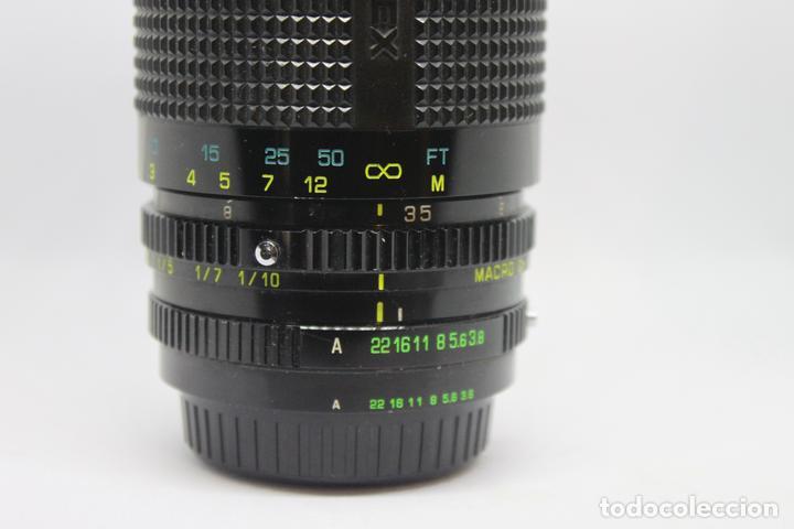 Cámara de fotos: Zoom HANIMEX 35-200 1:3,8-5,3 MACRO (Bayoneta Fujica AX) - Foto 4 - 170936905