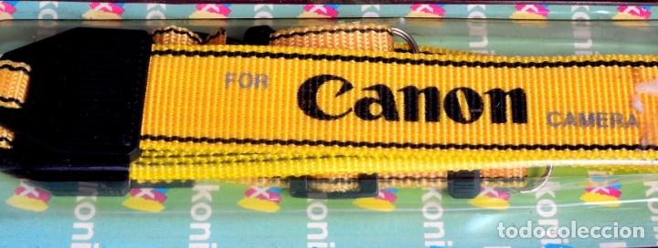 CORREA VINTAGE PARA CÁMARA CANON (Cámaras Fotográficas Antiguas - Objetivos y Complementos )
