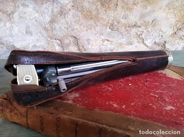 ANTIGUO TRÍPODE MARCA VIOLA (LEER DESCRIPCIÓN) (Cámaras Fotográficas Antiguas - Objetivos y Complementos )