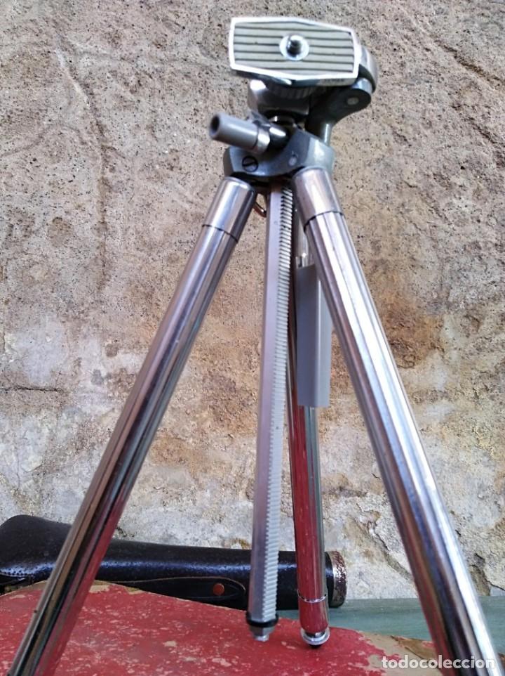 Cámara de fotos: Antiguo trípode Marca Viola (leer descripción) - Foto 5 - 173812913
