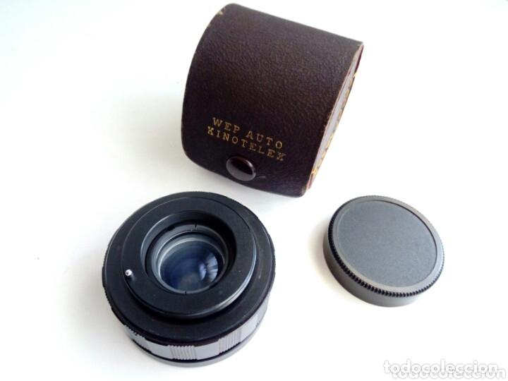Cámara de fotos: Duplicador para OBJETIVOS DE ROSCA M42 : WEP AUTO KINOTELEX 2X - Foto 3 - 174431105