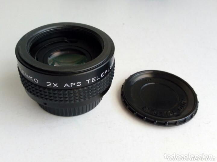 DUPLICADOR PARA OBJETIVOS DE ROSCA M42 : KENKO 2X APS TELEPLUS MC4 (MADE IN JAPAN) (Cámaras Fotográficas Antiguas - Objetivos y Complementos )