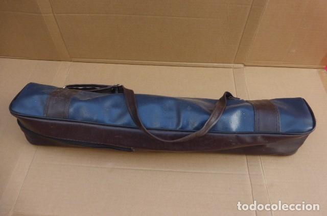 Cámara de fotos: Tripode metalico.Alemania. Cabezal completo y perfecto, brazo...Patas defectuosas el cierre..LEER - Foto 10 - 175108679