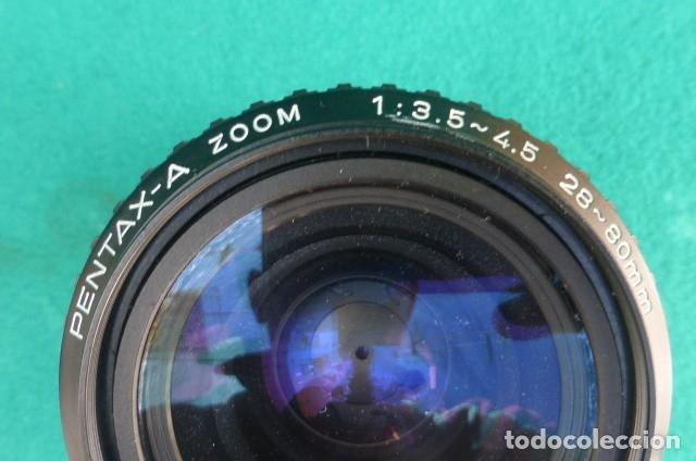 Cámara de fotos: Objetivo original Pentax zoom...28 -80 mm...f ·3,5-4,5...Japon. - Foto 2 - 175192604