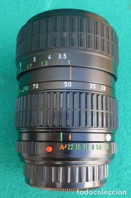 Cámara de fotos: Objetivo original Pentax zoom...28 -80 mm...f ·3,5-4,5...Japon. - Foto 3 - 175192604