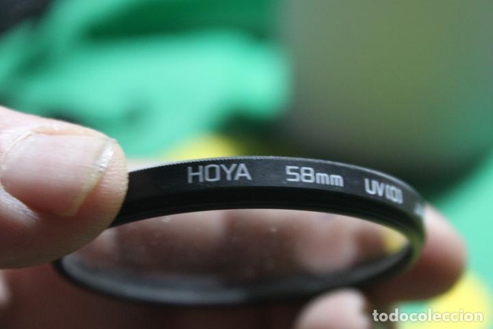 FILTRO HOYA 58MM UV (Cámaras Fotográficas Antiguas - Objetivos y Complementos )