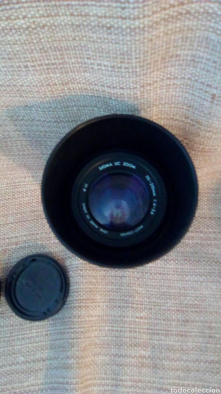 Cámara de fotos: Objetivo Sigma uc zoom 70-210 mm 1:4-5.6 - Foto 2 - 176252722
