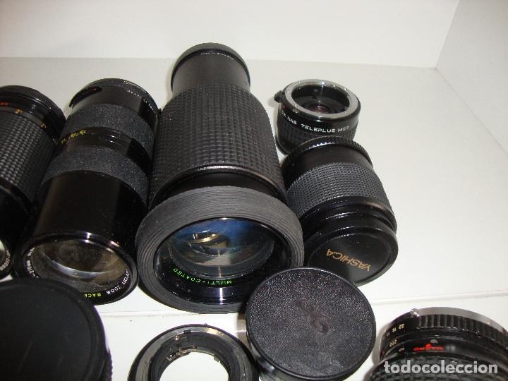 Cámara de fotos: INTERESANTE LOTE DE OBJETIVOS TAPAS COMPLEMENTOS DESCONOCEMOS EL TEMA - Foto 5 - 176413094