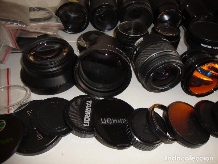 Cámara de fotos: INTERESANTE LOTE DE OBJETIVOS TAPAS COMPLEMENTOS DESCONOCEMOS EL TEMA - Foto 8 - 176413094