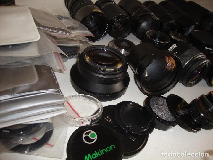 Cámara de fotos: INTERESANTE LOTE DE OBJETIVOS TAPAS COMPLEMENTOS DESCONOCEMOS EL TEMA - Foto 9 - 176413094