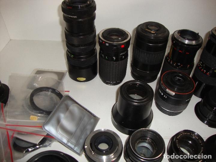 Cámara de fotos: INTERESANTE LOTE DE OBJETIVOS TAPAS COMPLEMENTOS DESCONOCEMOS EL TEMA - Foto 13 - 176413094