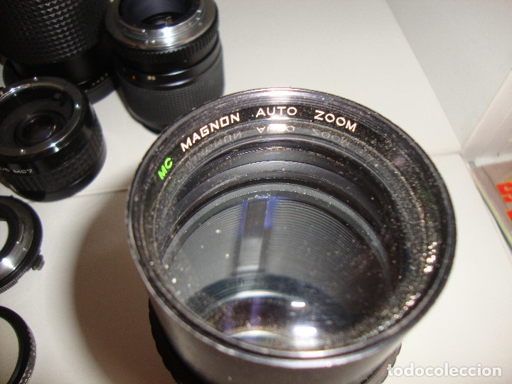 Cámara de fotos: INTERESANTE LOTE DE OBJETIVOS TAPAS COMPLEMENTOS DESCONOCEMOS EL TEMA - Foto 14 - 176413094