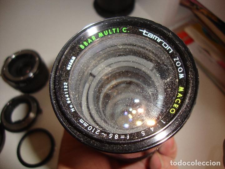 Cámara de fotos: INTERESANTE LOTE DE OBJETIVOS TAPAS COMPLEMENTOS DESCONOCEMOS EL TEMA - Foto 17 - 176413094