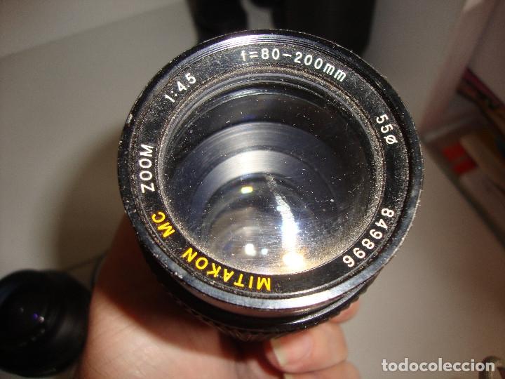 Cámara de fotos: INTERESANTE LOTE DE OBJETIVOS TAPAS COMPLEMENTOS DESCONOCEMOS EL TEMA - Foto 19 - 176413094