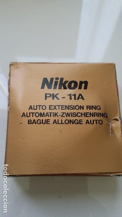 NIKON PK-11A 8MM ANILLO/EXTENSION (Cámaras Fotográficas Antiguas - Objetivos y Complementos )