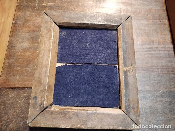 Cámara de fotos: Placa de revelado fotográfico principios del siglo XX en madera - 17 x 13.5cm - Foto 7 - 177468584